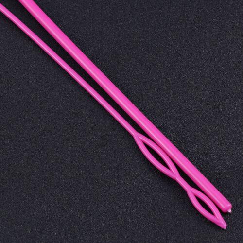 1 Set Kunststoff-Kordelzug-Einfädler Spezieller Bund-Seil-Einfädler