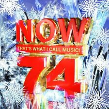 Now That's What I Call Music Vol.74 2 Disc CD FREE SHIPPING