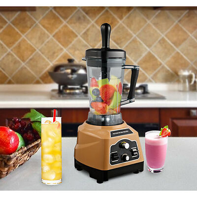New 1800W Commercial Blender Food Processer Multi-Function 2.5L Coffee Home