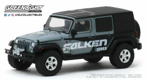 A.S.S NEU GreenLight 1//64 Jeep Wrangler Unlimited Falken Tires Running on Empty