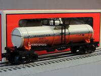 Lionel Interstate Single Dome Tank Car 6-30226 Train Heritage Tanker 6-25923