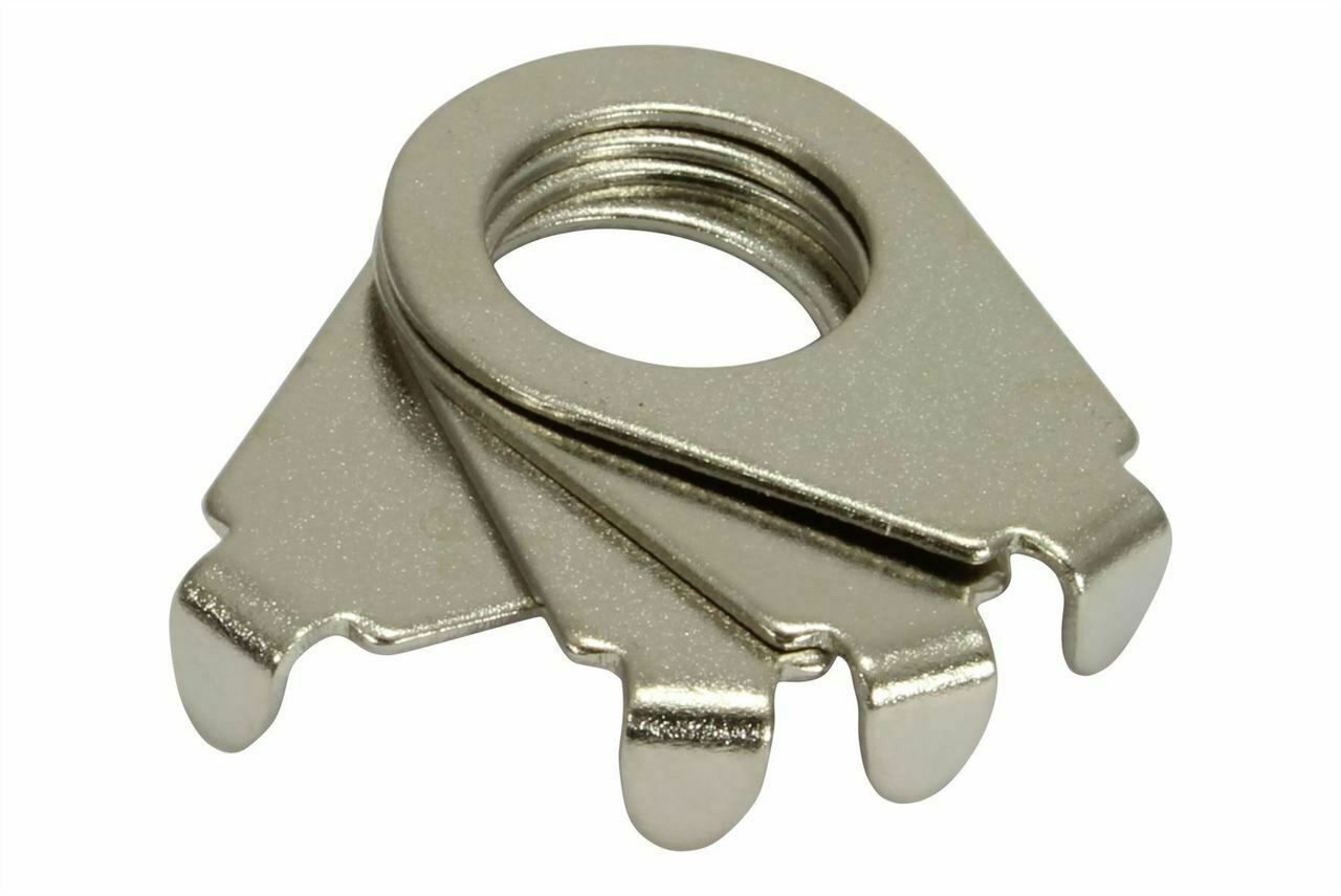 """Gibson Vintage style Pointers /""""Blunt Tip/""""  90degree Nickel plated Set of 4"""