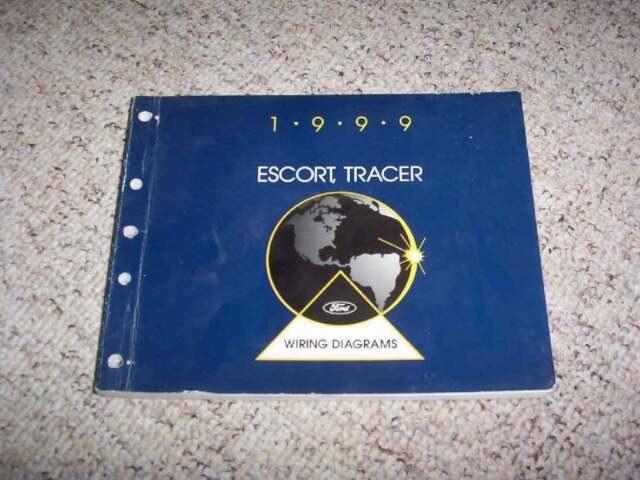1999 Ford Escort Electrical Wiring Diagram Manual Se Lx