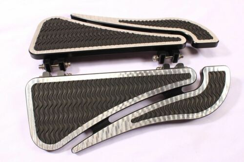FOOTPEGS FOOTBOARDS FLOORBOARDS HARLEY TOURING ROAD KING ELECTRA  FLT FLHT 80-UP