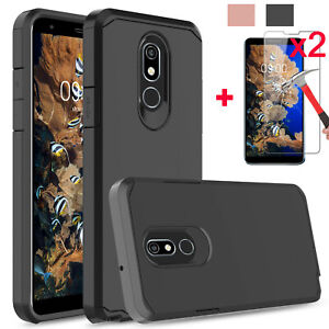 For-LG-Stylo-5-5-5-Plus-Shockproof-Armor-Case-Cover-2Pcs-Screen-Protector