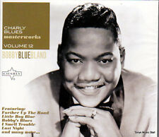 BOBBY BLUE BLAND - CHARLY BLUES MASTERWORKS (NEW CD)