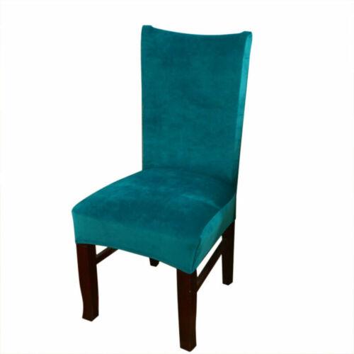 Abnehmbare Waschbar Stuhlbezug Stuhl Schutzhülle Stretch Esszimmer Stuhlhussen