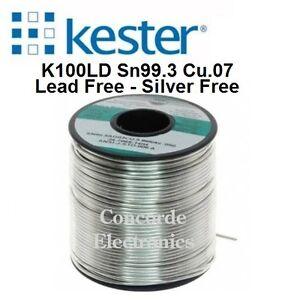 "Kester Solder 24-9574-7615: K100 Lead-Free .062"" #275-No-Clean 1Lb FREE SHIPPING"