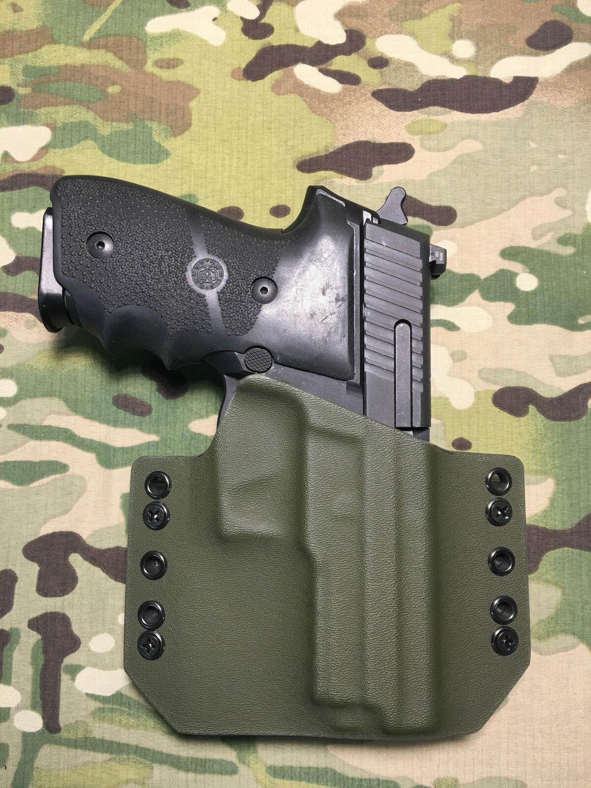 OD Green Kydex Light Bearing Holster SIG P229R