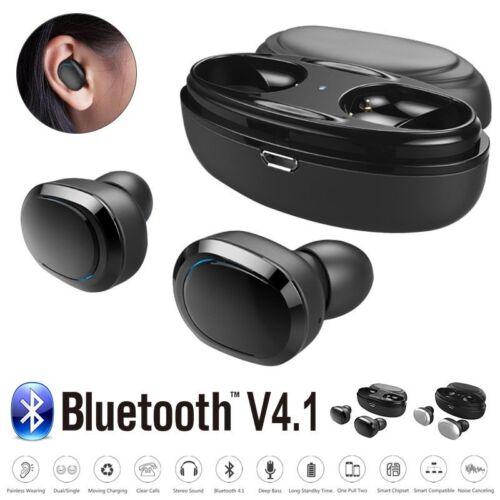 Mini Bluetooth V4.1 Headphones Sport In Ear Wireless Earbuds Headset HIFI Stereo