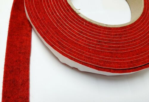 7 mm Self-Adhesive Felt Furniture Pad Roll Felts Strip 14 Colors 5m 2 mm