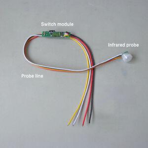 DC5-24V 1A Auto PIR Motion Infrared Light Box Closet Sensor Detector Switch Hot