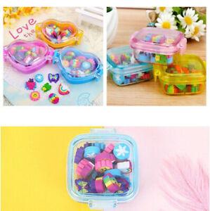 Cute-Kid-22pcs-Kawaii-Gift-Eraser-Rubber-Stationery-Supplies-School-material