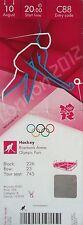 TICKET Olympia 10.8.2012 Finale Women's Hockey Niederlande - Argentinien C88