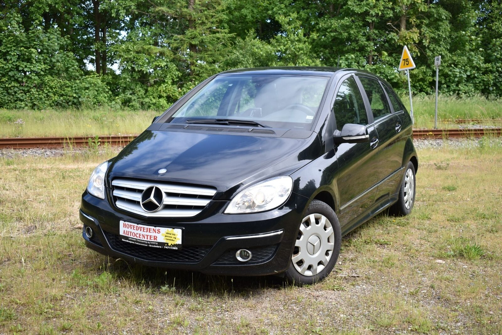 Mercedes B180 2,0 CDi 5d - 69.800 kr.