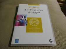 """DVD NEUF """"LES FOURBERIES DE SCAPIN - MOLIERE"""" Rene CAMOIN / theatre"""