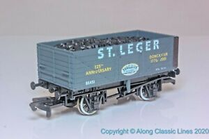 Dapol-OO-Gauge-7-Plank-Open-wagon-039-St-Ledger-039-Doncaster-Limited-Edition