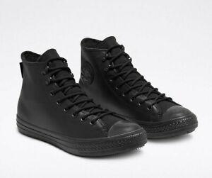 Size 10 Gore-Tex Converse All Black