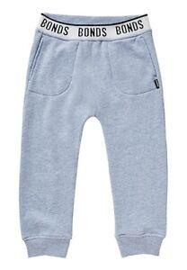 NEW BNWT BONDS Winter Lilac Fleece Track pants trackies + Pocket - size 4
