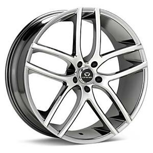 18 inch mercedes benz 18x8 pvd chrome rims wheels 5x112 ebay for Chrome rims for mercedes benz