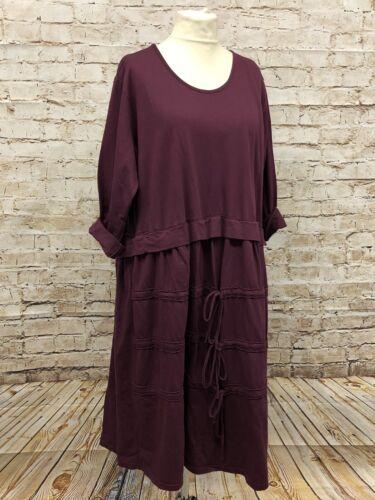 SALE Moonshine Fashion Kleid Tunika Lagenlook Übergröße 44 46 48 schwarz Neu
