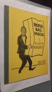 Papier Bag Magic By The Amazing Maurice 1967 M. P. Hades Be