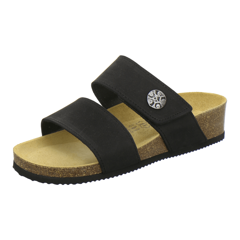 AFS-Schuhe 2745B, Pantolette Damen Komfort, bequeme Hausschuhe, hochwertiges.