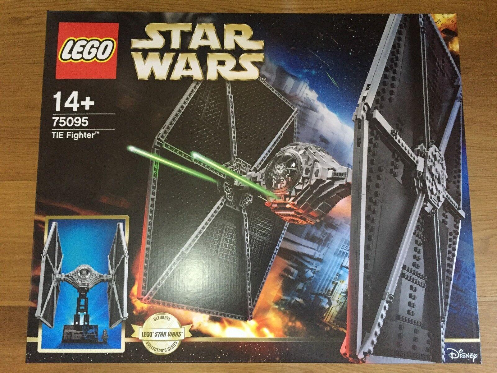 NUOVO  LEGO estrella guerras 75095 Tie combatiente  UCS   esclusivo  scelta migliore
