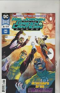DC COMICS HAL JORDAN & GREEN LANTERN CORPS #36 MARCH 2018 1ST PRINT NM 761941341866