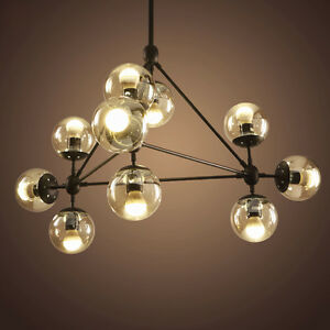 Industrial pendant lamp modo suspension led chandelier glass ball image is loading industrial pendant lamp modo suspension led chandelier glass aloadofball Gallery