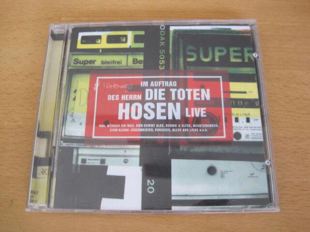 Die Toten Hosen – unterwegs Im Auftrag Des Herrn... Live (1996) CD Album