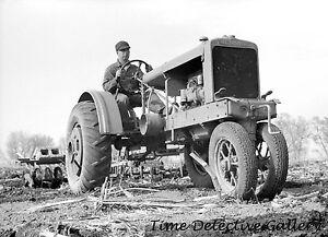Harrison County 1940 Iowa An Allis Chalmers Tractor Historic Photo Print