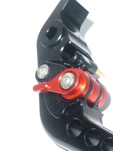 Ducati Streetfighter S 2009-13 schwarze Bremsen /& KUPPLUNGSHEBEL Satz Race