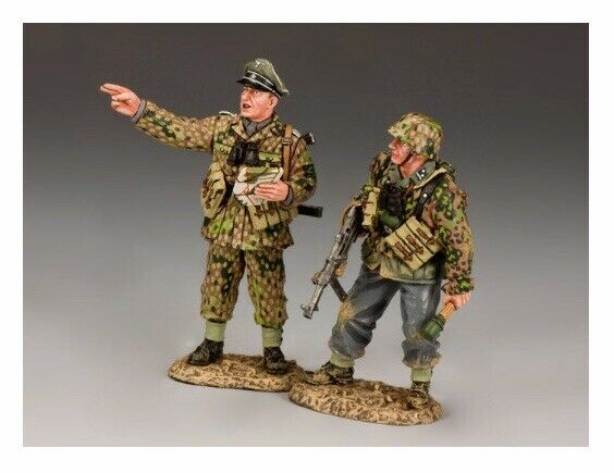 WS173 RARE RARE  WW2 HJ German Panzer Meyer Set Mint in Box Normandy D-Day WS 173