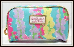 Image Is Loading Estee Lauder Lilly Pulitzer Cosmetic Bag Makeup Case