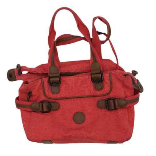 Kipling pink duffel bag