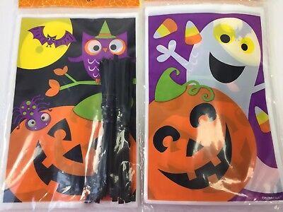 Treat Bag Loot Goody Candy Owl Pumpkin Bat Ghost Spider Y 40 Ct 50428350218 Ebay