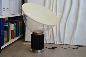 Earnest Lampada Taccia Flos Originale Vintage Anni'60 Icona Design Castiglioni Vetro-1or Antiques