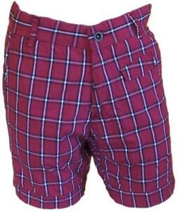 Shorts-Jack-amp-Jones-Bermuda-Capri-Shorts-Check-Red-Man-SIZE-S