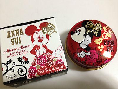 ANNA SUI  Minnie Mouse Lip Balm LIMITED ED 16g/0.56oz Disney BNIB