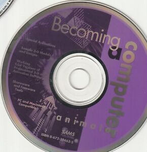 Classic-Pc-Software-Becoming-a-Computer-Animator-Disk-Only