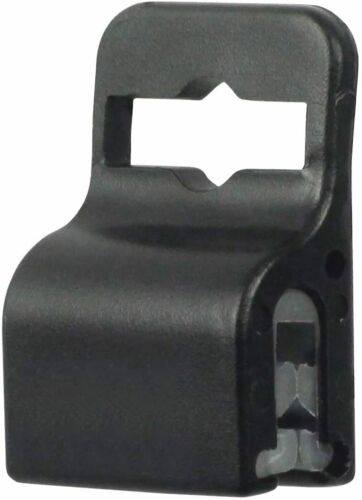 Black Gripper Card Holder Clamp 10 Pack for Standard Thickness ID Badge
