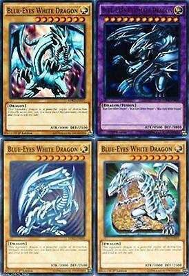 blue rippled LDK2-ENK01 Unlimited Blue-Eyes White Dragon