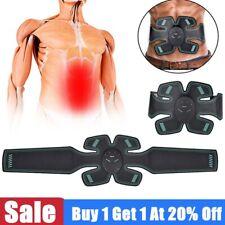 ABS EMS Bauchmuskeltrainer Bauchmuskel Stimulator Elektro Exerciser Pad AM DE