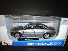 Maisto Audi A8 Grey 1/26