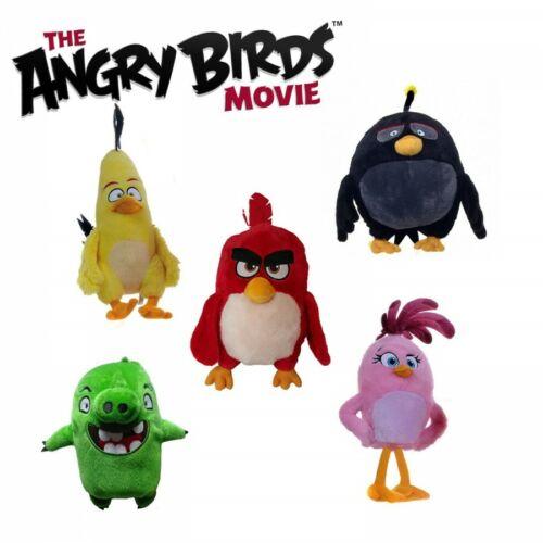"1 x ROVIO ANGRY BIRDS soft toy 7/"" 18 cm ANGRY BIRDS THE FILM"