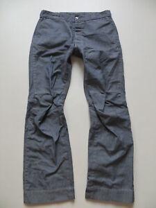 G-Star DECKPANT Jeans Hose W 34 /L 34, Vintage Denim im Elwood- Chino Style ! 50