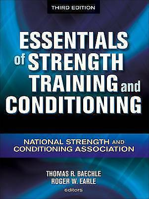 *Free 2nd Class P&P* VGC Essentials Of Strength Training And Conditioning
