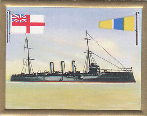 Cruiser-croiseur-Kreuzer-Amethyst-Royal-Navy-UK-Battleship-FLAG-CARD-30s