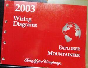 2003 Ford Mercury Dealer Electrical Wiring Diagram Manual ...